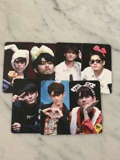 seongwoo fansite photocards