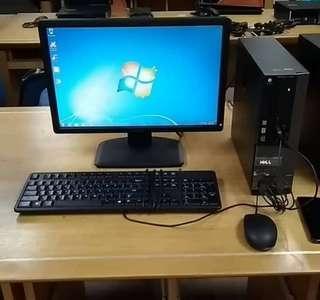 Set PC Desktop Dell Core i5 3.4Ghz complete set