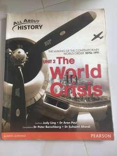All About History Unit 2 The World in Crisis