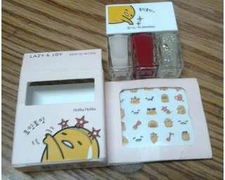 Holika Holika - Gudetama Party Up Nail Kit