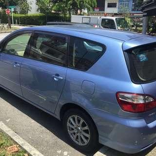Monthly Rental for 7 Seater Toyota Picnic MPV