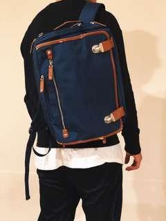 日本品牌公事背包 可三用後背鈄背手提