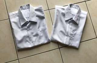 FREE POSTAGE Primary School Uniform White Shirt Buy 1 Free 1