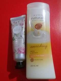Beauty bundle 3 lotion + handcream