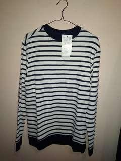 2 Sweater Pull and Bear Stripes