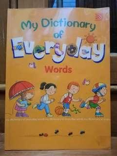 My Dictionary of Everyday Words for Kids