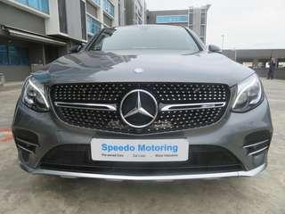 MERCEDES BENZ AMG GLC43 4MATIC COUPE (R19 LED)