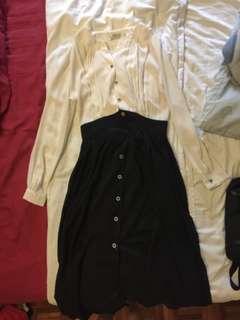Korean Long Sleeves Maxi Dress