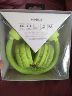 🚚 Head Phones (Miniso)