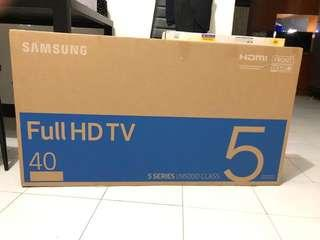 Samsung full HD TV (40 inch)