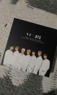 ORiginal VTxBTS Collagen Pact in Black and White box
