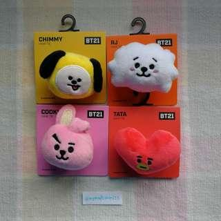 <CLEARANCE STOCK> BT21 OFFICIAL HAIR TIE #BT21 #LINEFRIENDS #READYSTOCK