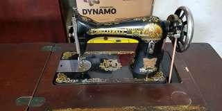 🚚 Vintage Butterfly Sewing Machine