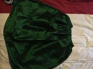 Dark Green Skirt