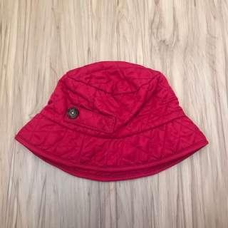 🚚 Baby Gap行縫紅色漁夫帽 12-18m