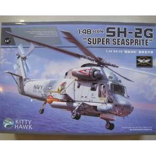 KITTY HAWK 1/48 SH-2G SUPER SEASPRITE