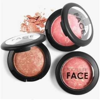 Focallure baked blush on 05 pink