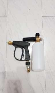 High Pressure spray gun & pressure foam washing spray for car washing