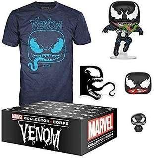 Pre-order: Venom Collector Corps Funko Pop