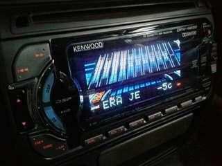 Double din player Kenwood MY fm.