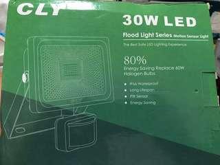 Flood light series motion sensor light