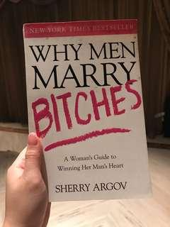 Why Men Marry Bitches English