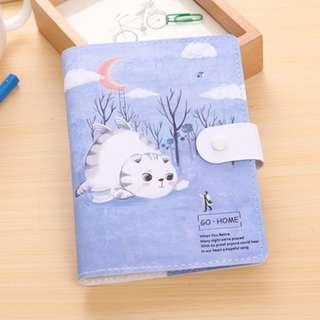 2019 Cat & Moon / Blue Mountain / Red Umbrella / Japanese Pavilion Planner Note Book Notebooks 4 Designs