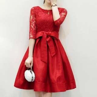 [CNY 2019 Collection] Pre Order [S - 3XL] Regular - Plus Size Dress