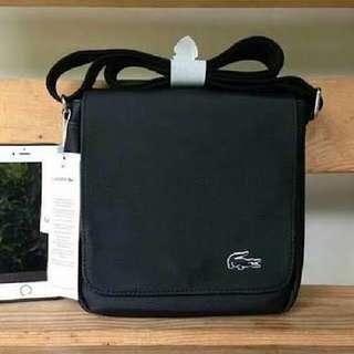 a5fe3405f3 Authentic Lacoste mens crossbody messenger bag