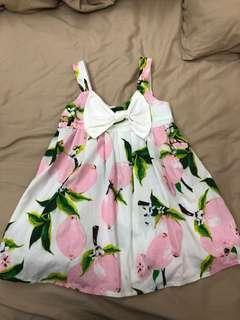 🚚 Peach dress