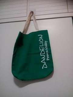 新绿色布袋