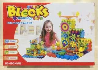 🚚 《年終出清》BLOCKs 創意齒輪積木
