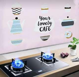 🚚 廚房防油貼 璧貼