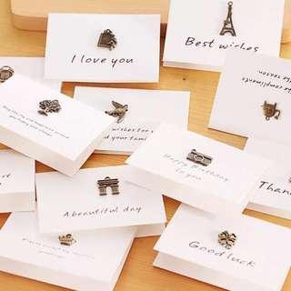 🚚 Mini Greeting Cards Type B