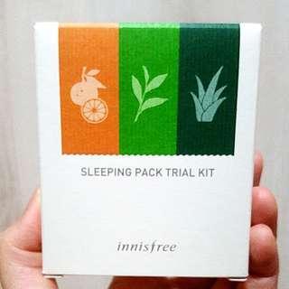 Innisfree Sleeping Pack Trial Kit