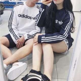 🚚 adidas棉大學T