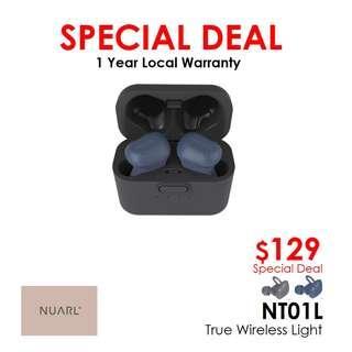 NUARL NT01L True Wireless Light Earphones