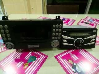 AXIA and Mercedes Car Audio Player