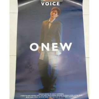 [Official] SHINee Onew - Voice Poster