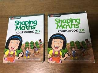 P2A/B Shaping Maths Cousebook 3rd edition