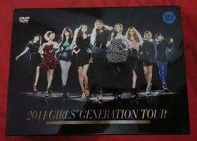 2011 GIRLS GENERATION DVD TOUR ORIGINAL