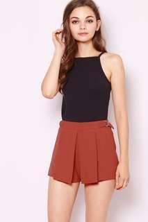 ShopSassyDream Rust Shorts