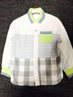 Giordano Junior Boys Shirt (Size 4-5 Years Old / 110cm)