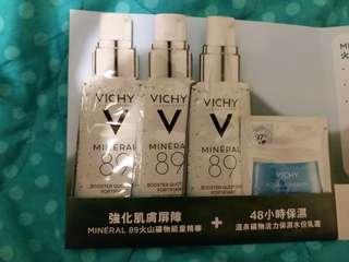Vichy boost you up 精華 & 水份乳霜連50元現金優惠券一