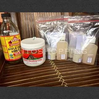 Paket aztec dan cuka apel