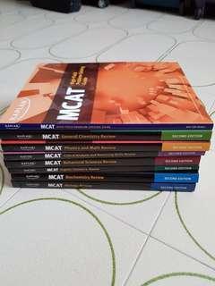 Kaplan MCAT Books