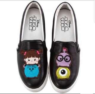 (REDUCED!!) BN - Tsum Tsum slip on shoes by Grace Gift