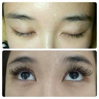 EYELASH EXT • VOLUME