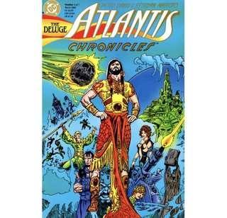 ATLANTIS CHRONICLES #1 (1990) 1st Issue!