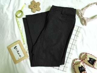 Stripe Slacks Pants for Women